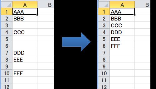 エクセル初級 空白セルを削除して詰める 関数を使わない方法 Itジョー