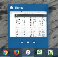 iTunesは再生/停止ボタンなども